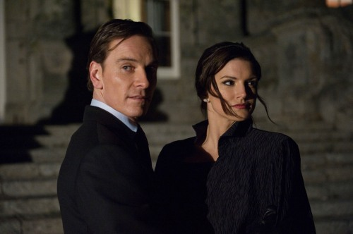 Haywire - Michael Fassbender and Gina Carano