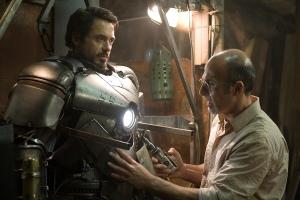 Iron Man movie Tony Stark and original armor