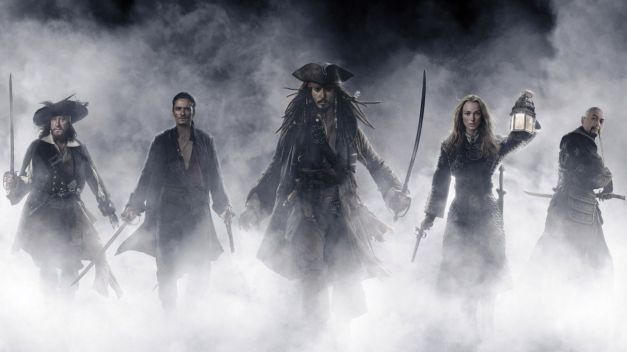 Pirates of the Caribbean- At World's End - main cast
