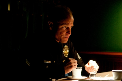 """Courtesy Millennium EntertainmentWoody Harrelson stars as a corrupt L.A. cop in """"Rampart."""""""