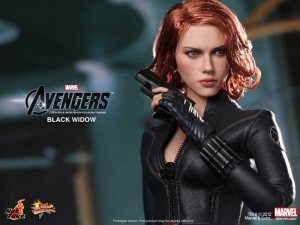 "Hot Toys' ""Marvel's The Avengers"" Black Widow collectible figure"