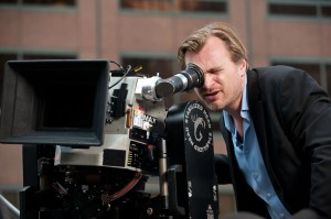 Ron Phillips/Warner Bros. Pictures Christopher Nolan sets up a shot.