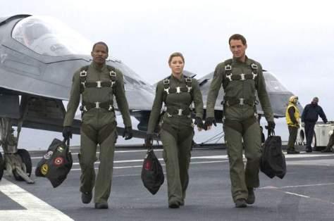 Stealth movie - Jamie Foxx, Jessica Biel and Josh Lucas
