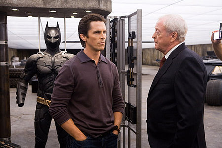 The Dark Knight Christian Bale as Bruce Wayne and Michael Caine as Alfred