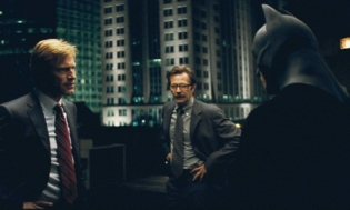 The Dark Knight Harvey Dent Aaron Eckhart, Gary Oldman Commissioner Gordon and Batman Christian Bale