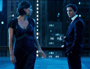 The Dark Knight Maggie Gyllenhaal and Christian Bale