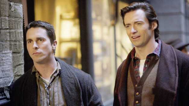 The Prestige Christian Bale and Hugh Jackman