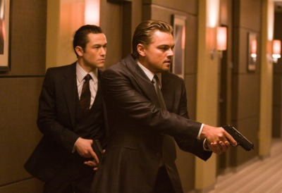 Inception Joseph Gordon Levitt and Leonardo DiCaprio