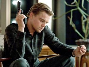 Inception Leonardo DiCaprio with totem