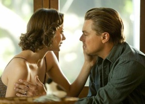 Inception Marion Cottilard and Leonardo DiCaprio