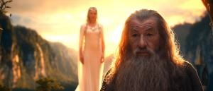 "Warner Bros. PicturesCATE BLANCHETT as Galadriel and IAN McKELLEN as Gandalf in New Line Cinema's and MGM's fantasy adventure ""THE HOBBIT: AN UNEXPECTED JOURNEY,"" a Warner Bros. Pictures release"
