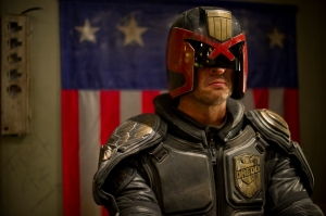 "Joe Alblas/Lionsgate PublicityKarl Urban stars as Judge Dredd in ""Dredd 3D."""