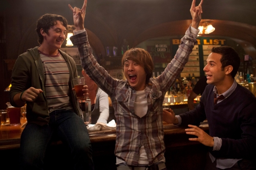 "John Johnson/Relativity Media[From left] Miles Teller, Justin Chon, and Skylar Astin star in Relativity Media's ""21 and Over."""