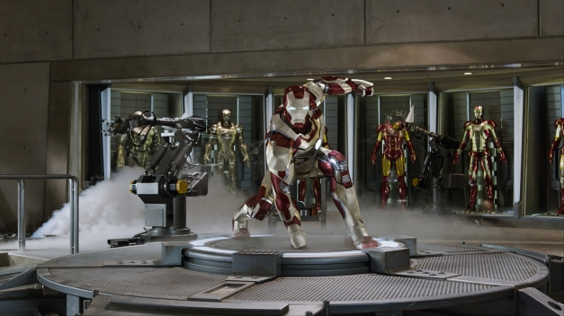 "Film Frame/Walt Disney Pictures Tony Stark/Iron Man (Robert Downey Jr.) in ""Iron Man 3."""