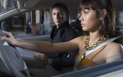 Olga Kurylenko starred alongside Daniel Craig in Quantum of Solace