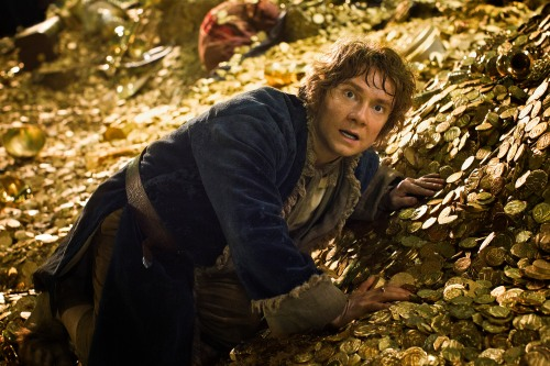 "Mark Pokorny/Warner Bros. PicturesMARTIN FREEMAN as Bilbo Baggins in New Line Cinema's and Metro-Goldwyn-Mayer's fantasy adventure ""THE HOBBIT: THE DESOLATION OF SMAUG."""