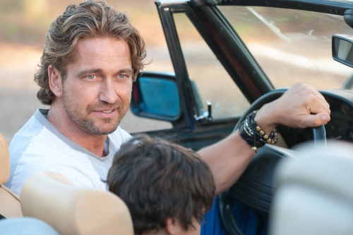 "Dale Robinette/Film DistrictGerard Butler stars in ""Playing for Keeps."""