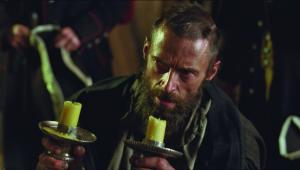 Hugh Jackman as Valjean in Les Miserables