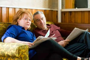 "The Weinstein CompanyDolores (Jacki Weaver) and Pat Sr. (Robert De Niro) in ""Silver Linings Playbook."""