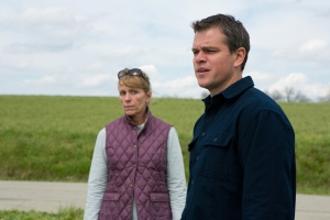 Matt Damon and Frances McDormand in Promised Land