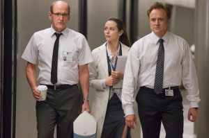 Richard Jenkins, Amy Acker and Bradley Whitford in The Cabin in the Woods