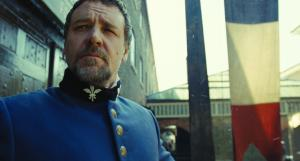 Russell Crowe as Javert in Les Miserables