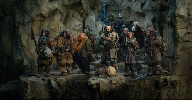 Warner Bros. PicturesBifur (William Kircher), Bofur (James Nesbitt), Nori (Jed Brophy), Bombur (Stephen Hunter), Oin (John Callen), Dwalin (Graham McTavish), Bilbo Baggins (Martin Freeman), Gandalf (Ian McKellen), Dori (Mark Hadlow), Ori (Adam Brown), Balin (Ken Stott), Gloin (Peter Hambleton).
