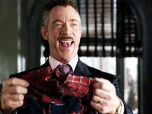 J.K. Simmons as JJJ in Spider-Man