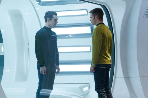 Khan and Kirk in Star Trek Into Darkness