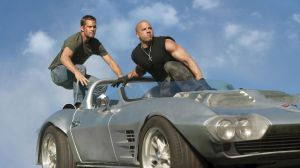 Paul Walker and Vin Diesel in Fast 5