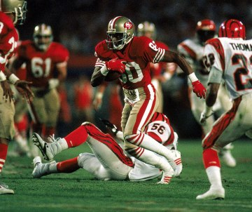 Jerry Rice makes another big play in Superbowl 23.