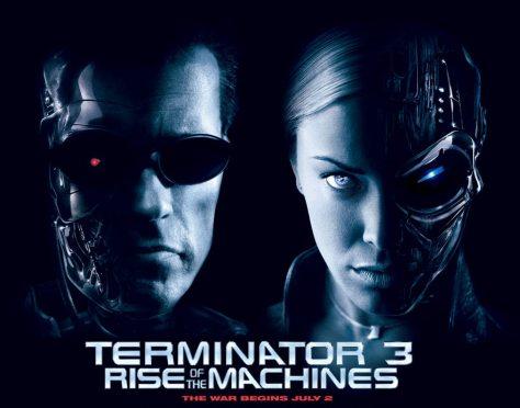 Terminator 3 - Kristina Loken and Arnold Schwarzenegger poster zoom