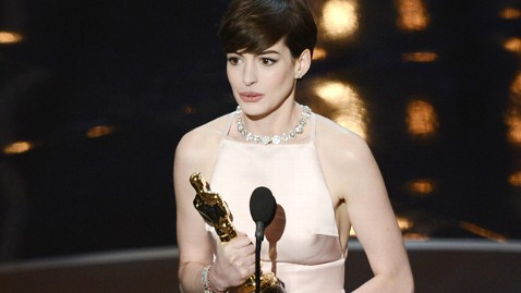 2013 Oscar Best Supporting Actress Anne Hathaway