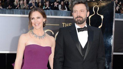 Ben Affleck and Jennifer Garner 2013 Oscars