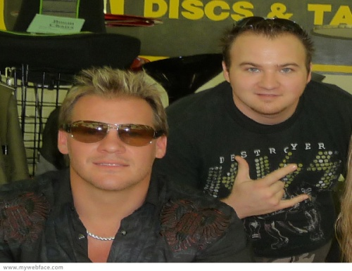 Dustin and Chris Jericho