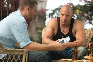 Fast and Furious 6 Paul Walker as Brian and Vin Diesel as Dom