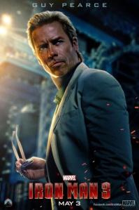 Iron Man 3 Guy Pearce as Aldrich Killian