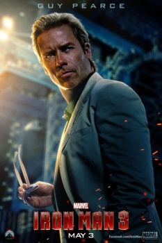 "Guy Pearce as Aldrich Killian in ""Iron Man 3."""