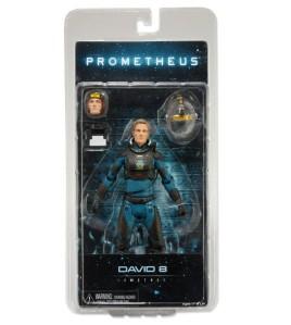 NECA Prometheus David Michael Fassbender in package