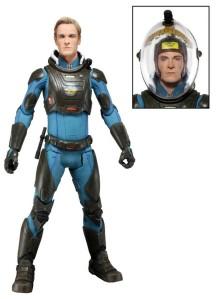 NECA Prometheus David Michael Fassbender with helmet head