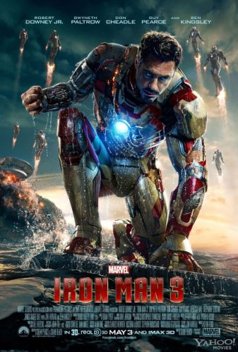 New Iron Man 3 poster