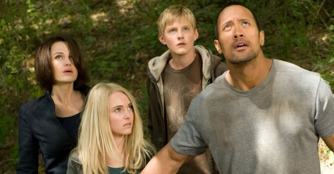 Race to Witch Mountain stars Carla Gugino, AnnaSophia Robb, Dwayne Johnson and Alexander Ludwig