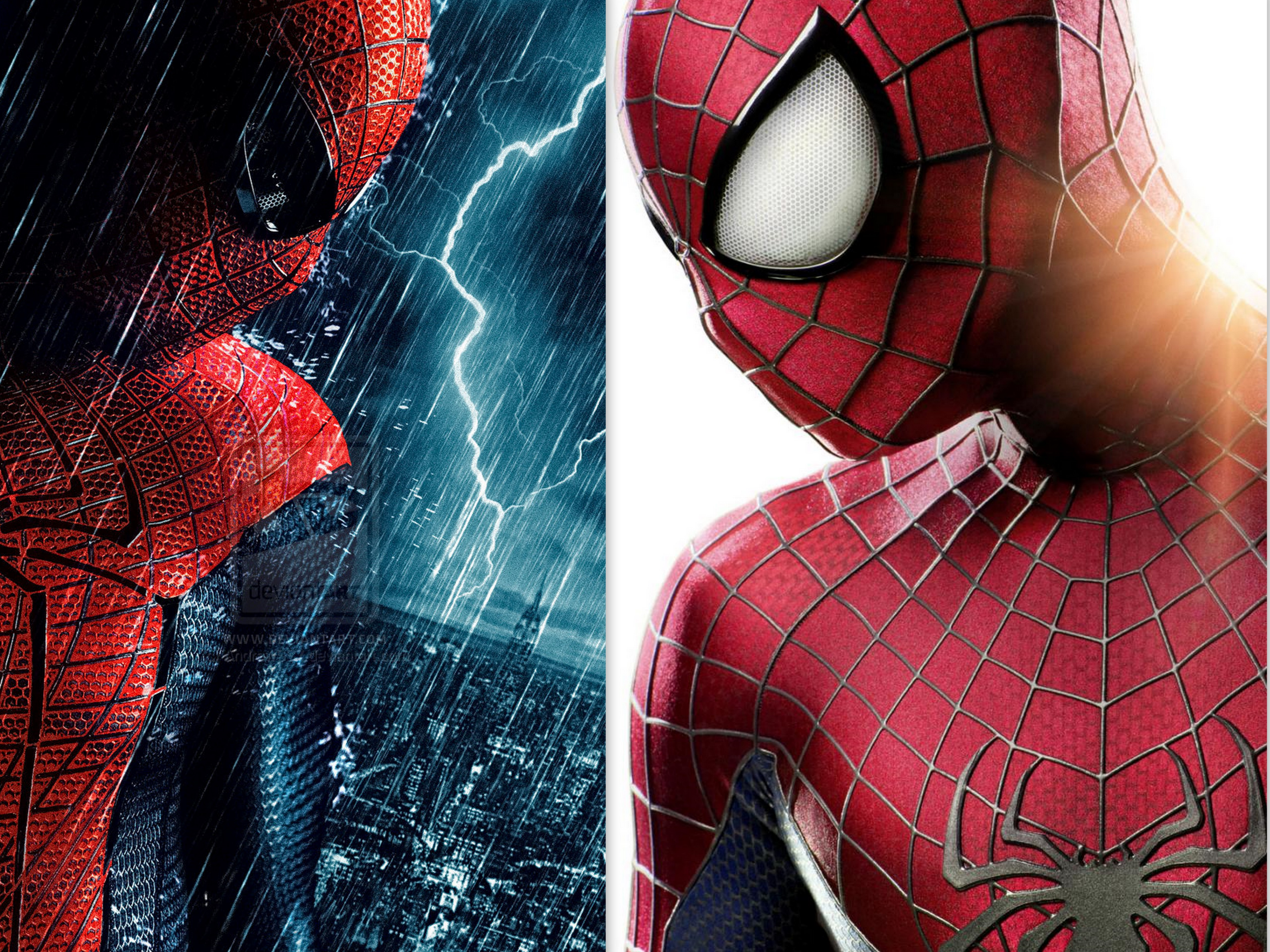 First new pictures of  The Amazing Spider-Man 2  costume - Lyles Movie Files & First new pictures of
