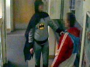 Batman aids UK police