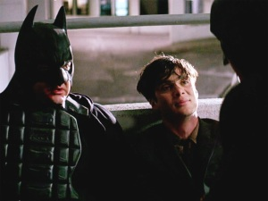 Batman impersonators in The Dark Knight