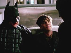 Batman impersonators in The Dark Knight