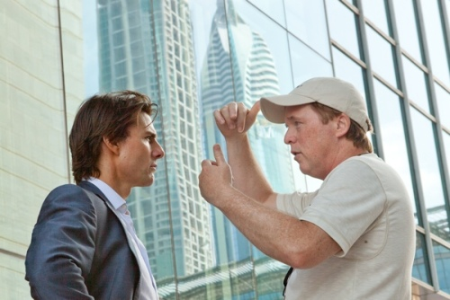 Brad Bird and Tom Cruise on Mission Impossible Ghost Protocol