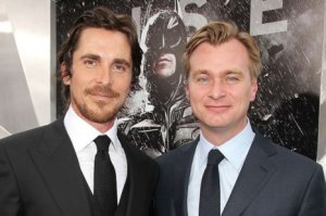 Christian Bale and Christopher Nolan