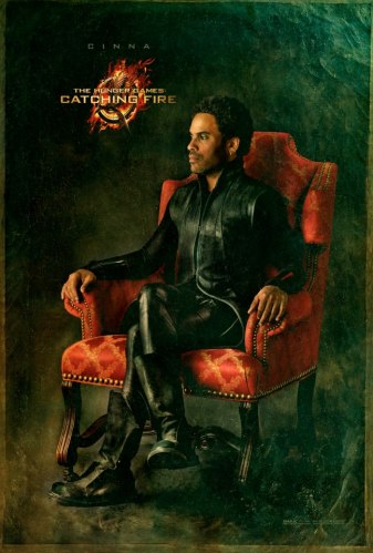 Cinna in chair from The Hunger Games Catching Fire
