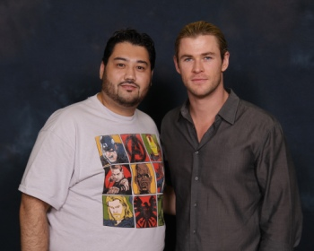 CM Showstopper with Chris Hemsworth from Thor